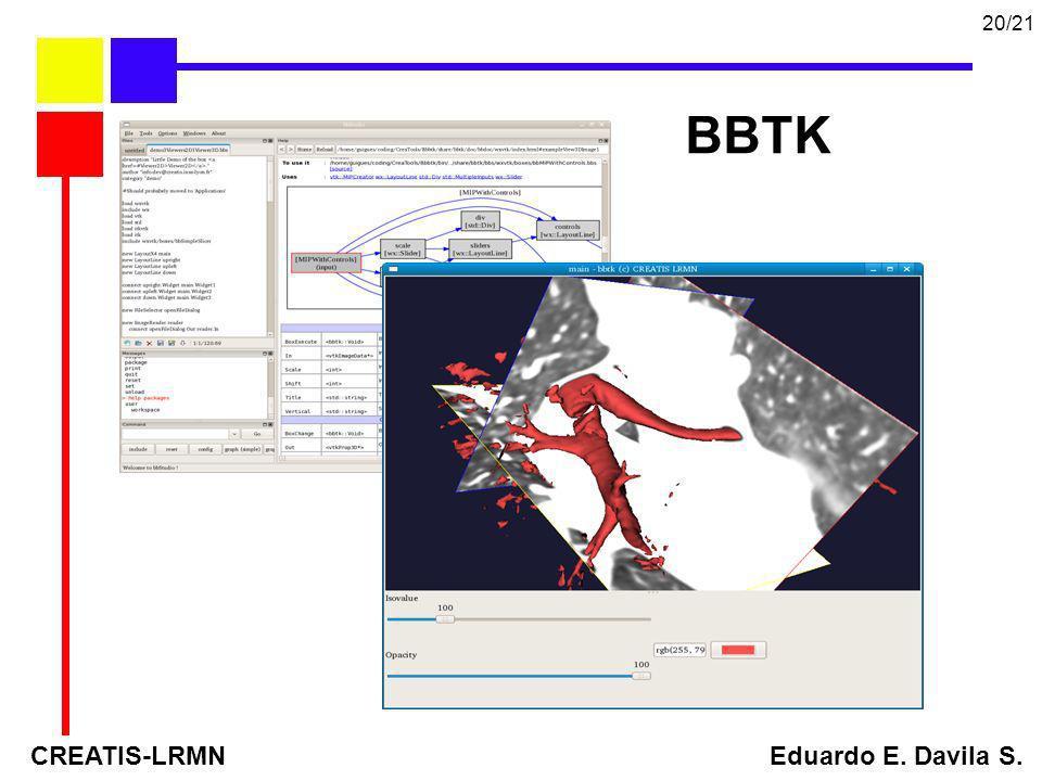 BBTK CREATIS-LRMN Eduardo E. Davila S. 20/21