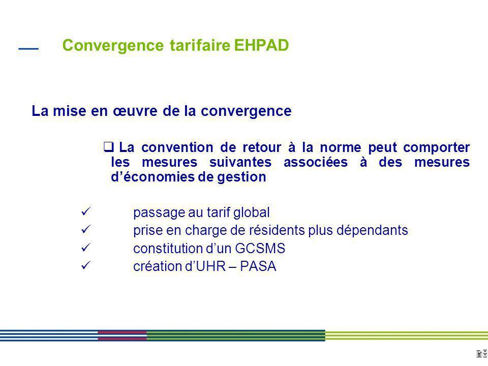 25 ARS Ile de France Direction de loffre de soins et médico-sociale 12 avril 2010 Diapositive : 25 Convergence tarifaire EHPAD La mise en œuvre de la