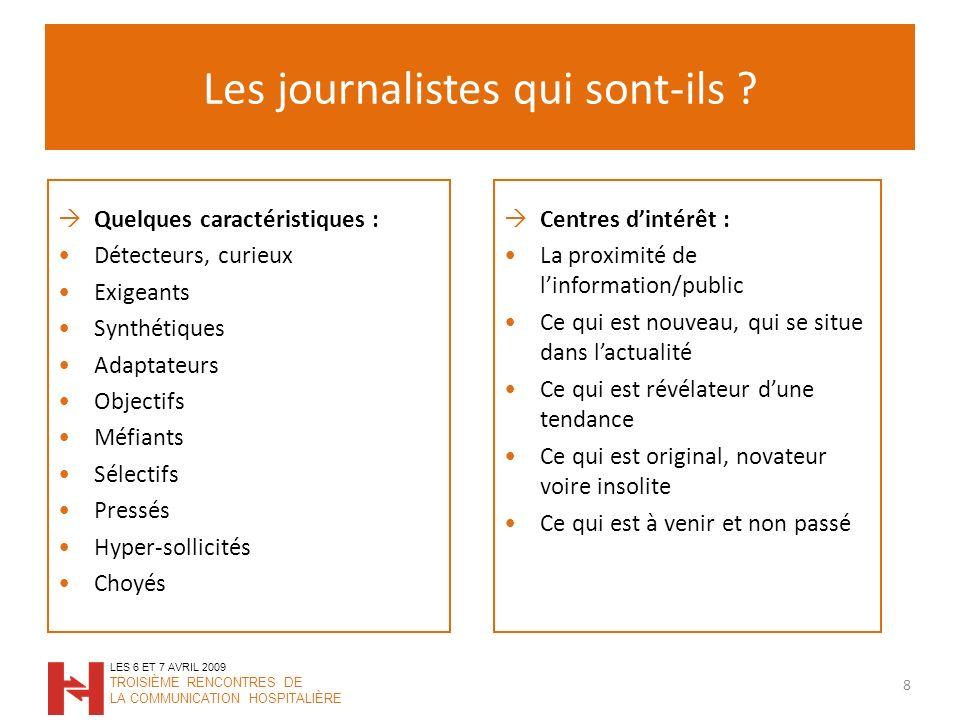 Les journalistes qui sont-ils .