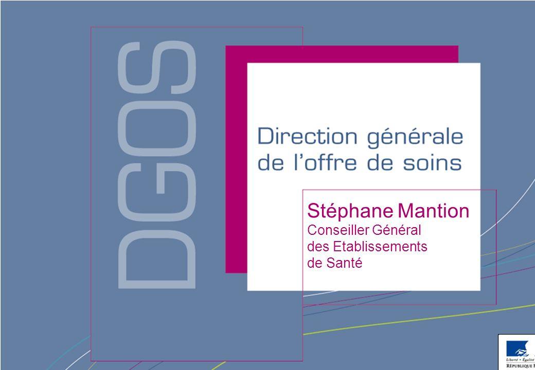 Direction générale de loffre de soins - DGOS ORGANISATION & MISSIONS Direction générale de loffre de soins La Mission dIntérêt Général et dAide à la Contractualisation (MIGAC) : « Les Actions de Coopération Internationale »