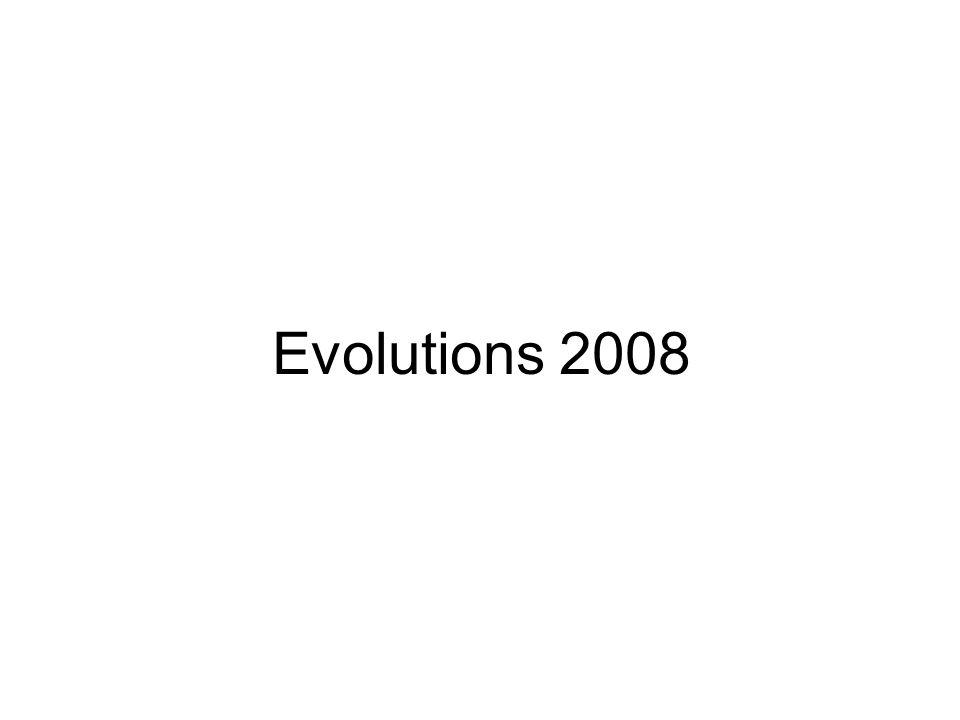 Evolutions 2008
