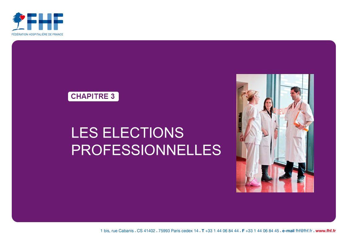 CHAPITRE 3 LES ELECTIONS PROFESSIONNELLES