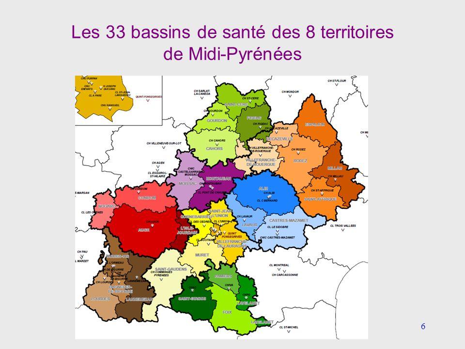 17 4- Optimiser le maillage territorial (5) Estimations médico-économiques Estimation fondée sur les résultats économiques des LBM hospitaliers de Cahors, Montauban et Gourdon (PT partagés entre Cahors et Montauban depuis1993 puis CH de Gourdon en 95) Activité du groupe : 35 MB avec un coût global de 7.1 MEuros (retraitement comptable 2010 de lARS: charges nettes majorées de la logistique médicale ) soit un coût de production du B = 0.20 euro Les gains potentiels des 5 autres groupements de la région ont été estimés à 5 MEuros par an en fonction: - des résultats du groupement Cahors-Gourdon-Montauban - des volumes dactivités générées par ces regroupements - du nombre de PT et de sites avec PDS (Biologie médicale de proximité)