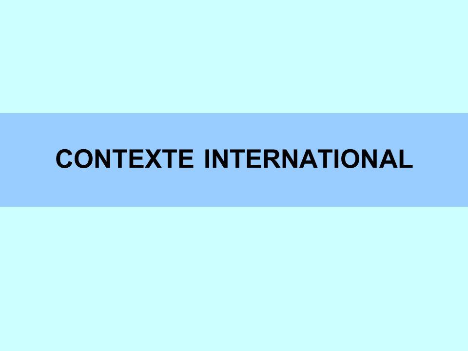 CONTEXTE INTERNATIONAL PLAN STRATEGIQUE 2002-2003 Objectif 3 faciliter l échange international des données d autorité Actions à entreprendre pour l objectif 3 développer le format UNIMARC Autorités assurer les relations avec les autres parties intéressées : LEAF, INTERPARTY, etc.