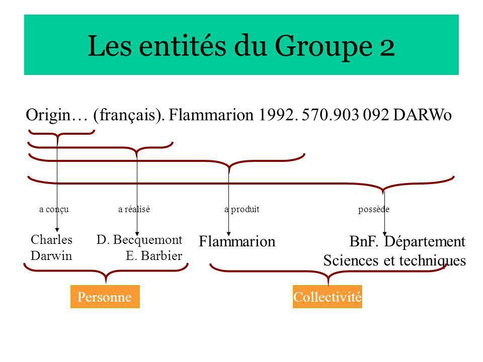 Charles Darwin D.Becquemont E. Barbier FlammarionBnF.