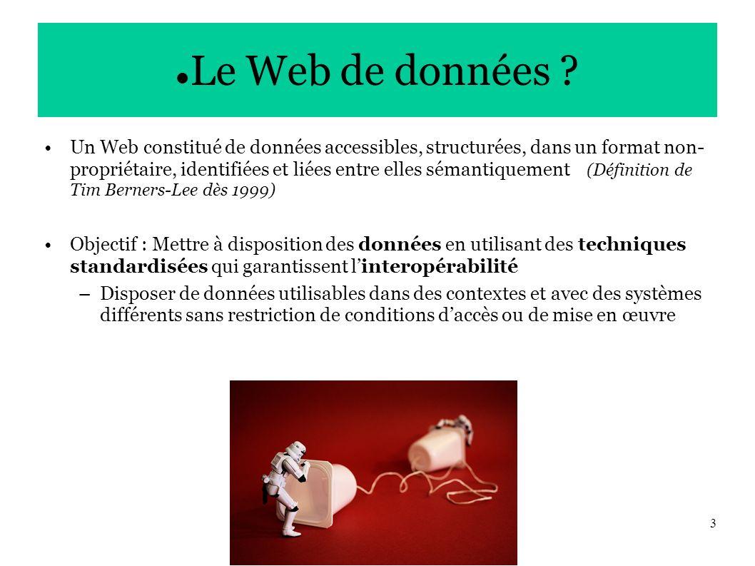 3 Le Web de données .