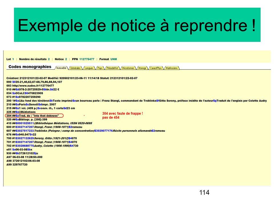 114 Exemple de notice à reprendre !