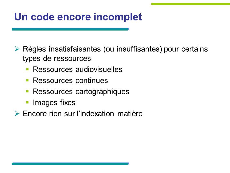 Des questions qui se posent Ergonomie de RDA Toolkit Modalités et coût dabonnement Participation à lévolution du code ?