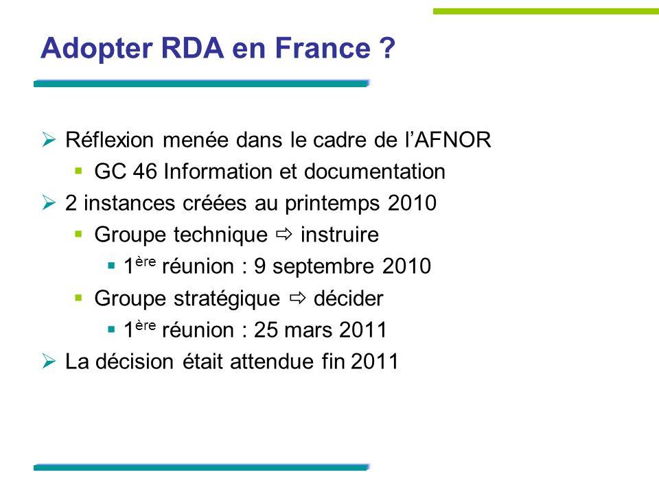 Groupe stratégique Présidence : Raymond Bérard (ABES) Membres : les tutelles (MESR/MISTRD et MCC/SLL) la BnF lABES les associations professionnelles (ABF, ADBGV, ADBDP, ADBU, AURA, IABD) les organismes de formation (ENSSIB, CNFPT) Electre la FULBI un consultant AFNOR GC46