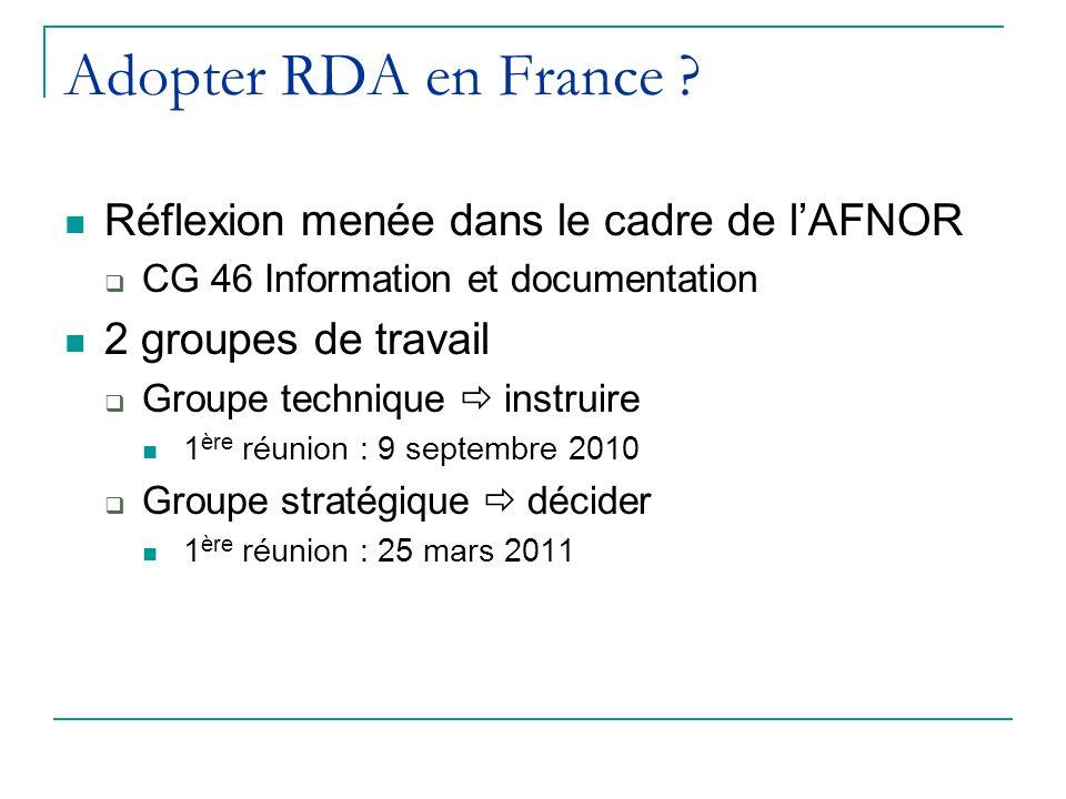 Adopter RDA en France .