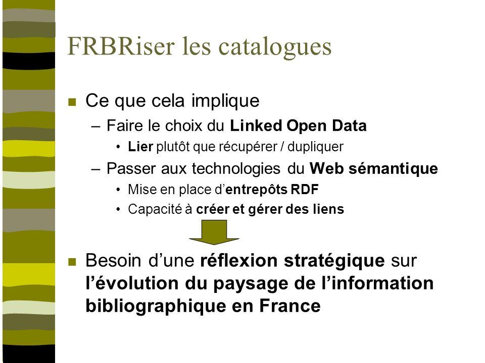 Linformation bibliographique en France Quelle organisation pour demain .