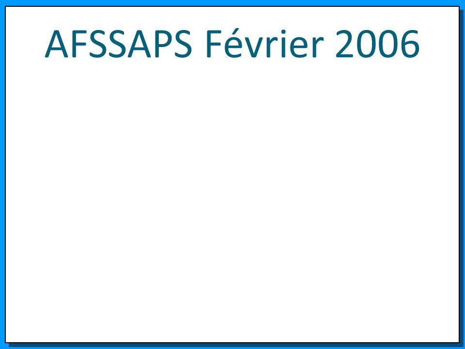 AFSSAPS Février 2006