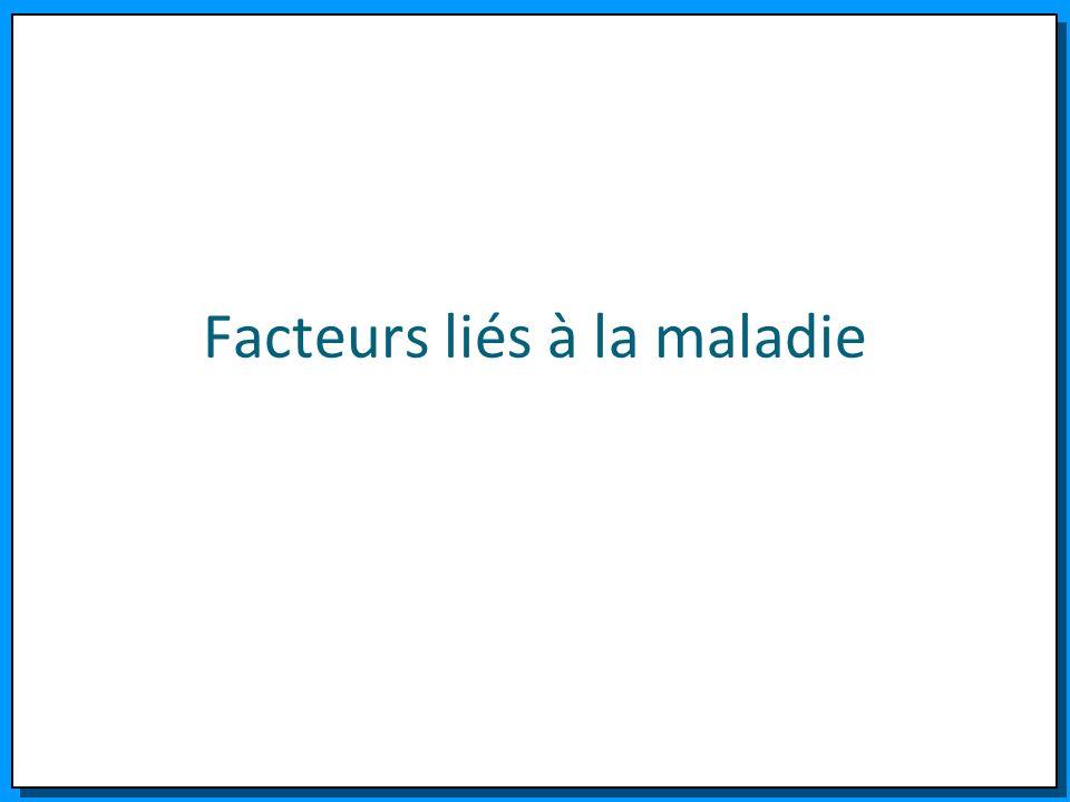 Facteurs liés à la maladie
