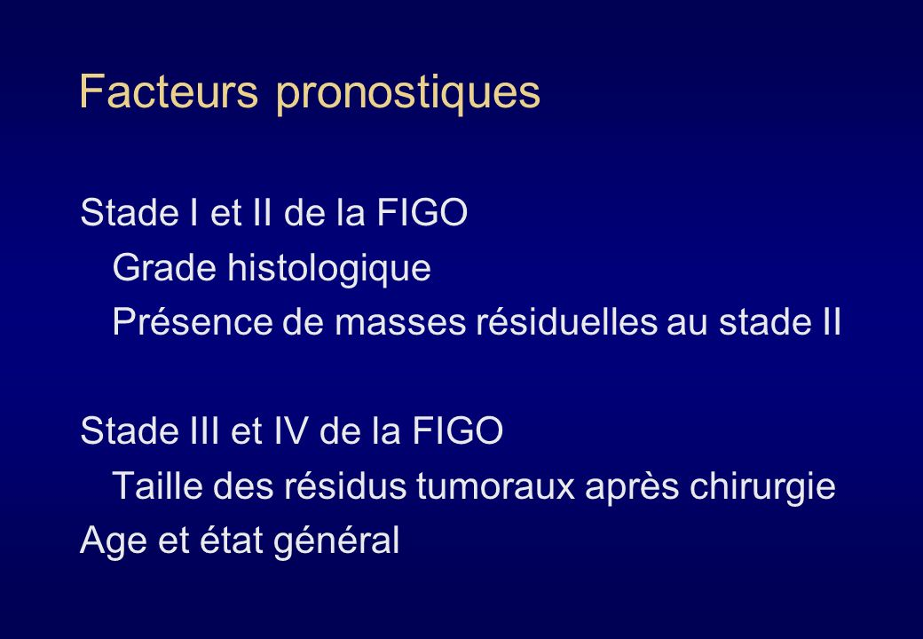 Classification FIGO