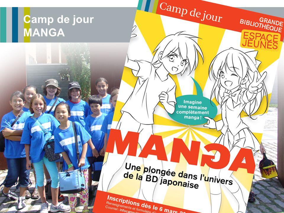 Camp de jour MANGA