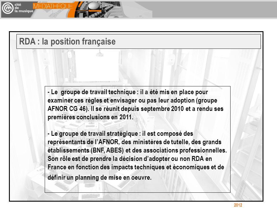 - Le groupe de travail technique : il a été mis en place pour examiner ces règles et envisager ou pas leur adoption (groupe AFNOR CG 46). Il se réunit