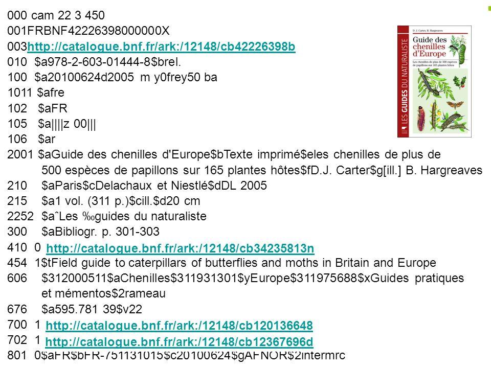 000 cam 22 3 450 001FRBNF42226398000000X 003http://catalogue.bnf.fr/ark:/12148/cb42226398b 010 $a978-2-603-01444-8$brel. 100 $a20100624d2005 m y0frey5