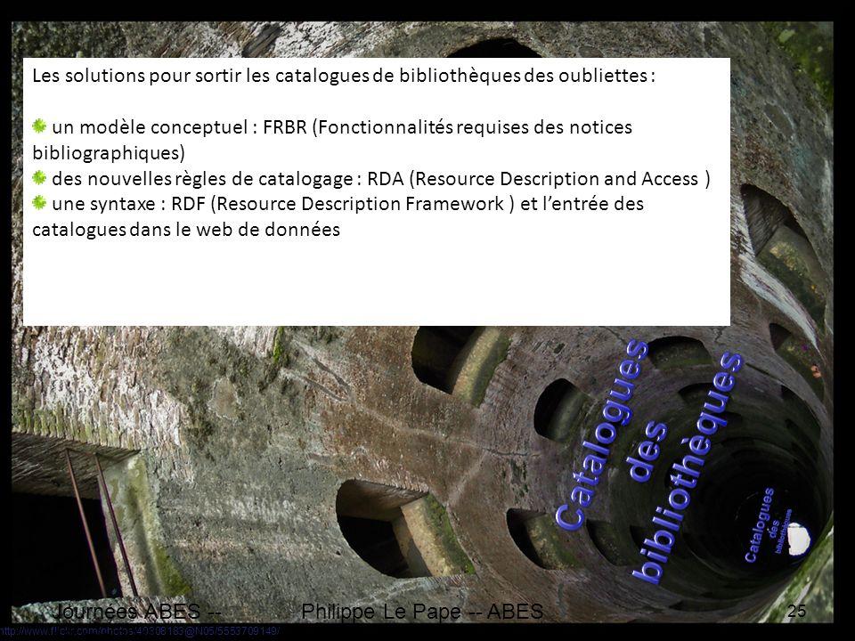 http://www.flickr.com/photos/40308183@N05/5553709149/ Journées ABES -- 18 mai2011 25 Philippe Le Pape -- ABES Aujourdhui les catalogues de bibliothèqu