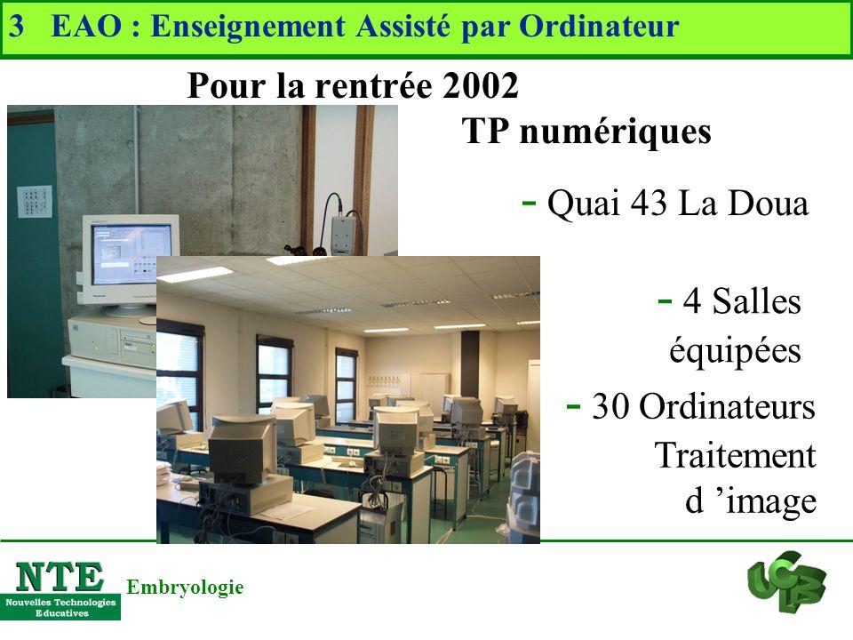 * Public visé * Fonctionnement http://nte-serveur.univ-lyon1.fr/embry/ * Mots clés intéressants associés à une image * Lexique correspondant à ces mot