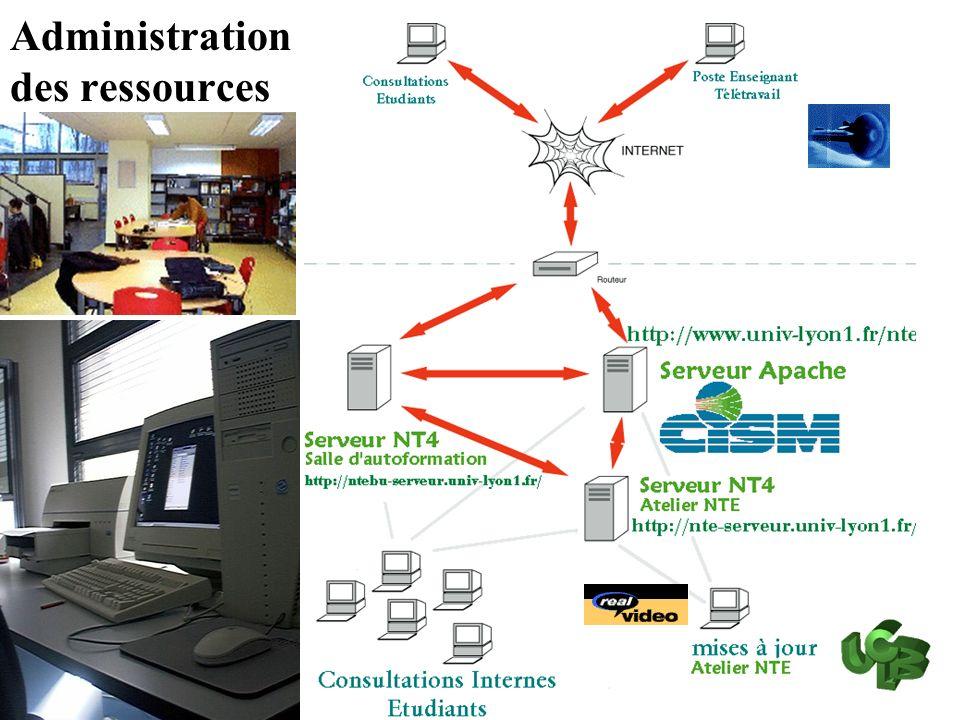 Auto formation auto évaluation http://nte.univ-lyon1.fr/ Les Ressources informatiques pour apprendre
