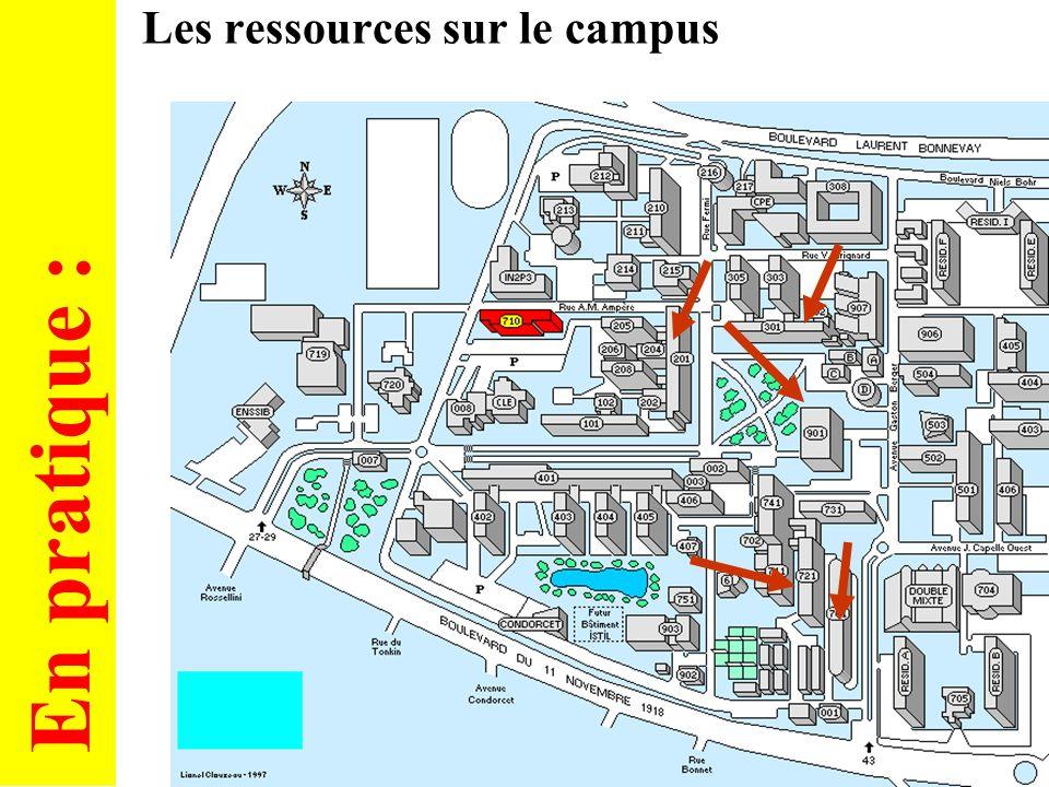 5 Les ressources informatiques pour les étudiants Administration des ressources
