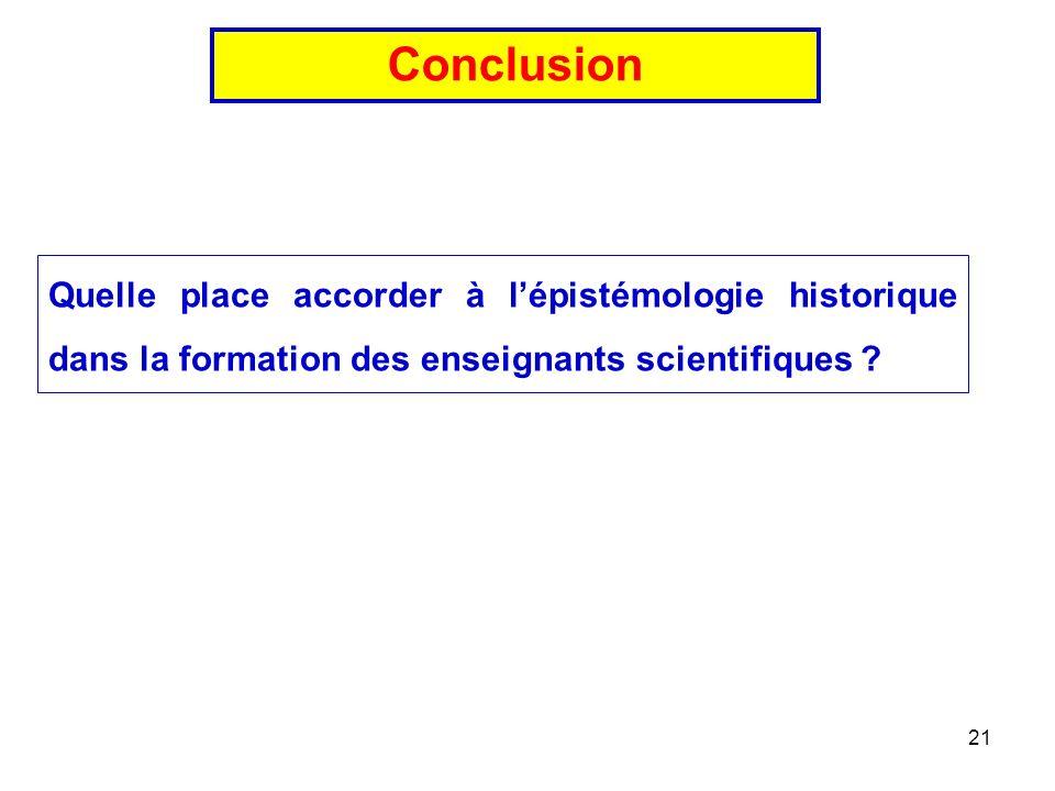 21 Quelle place accorder à lépistémologie historique dans la formation des enseignants scientifiques .