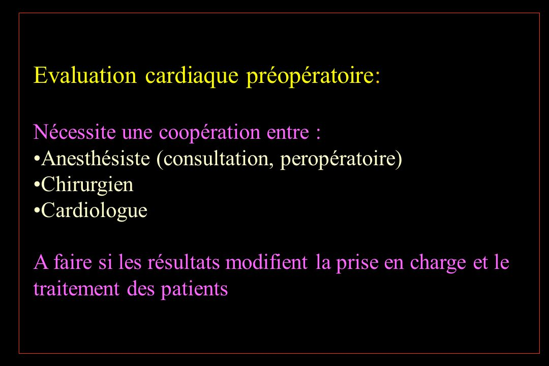 Grayburn PA Ann Intern Med 2003;138:506-11 The era of routine non invasive testing has ended Myocardial perfusion imaging add little to the clinically defined risk index Coronary angiography and revascularisation should be performed independantly of planned non cardiac surgery Shifting the paradigm from non invasive risk stratification to therapy
