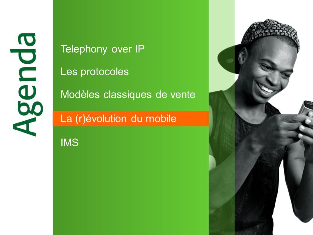 Telephony over IP Les protocoles Modèles classiques de vente La (r)évolution du mobile IMS