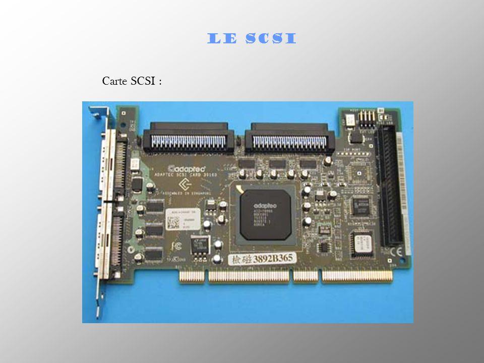 LE SCSI Carte SCSI :