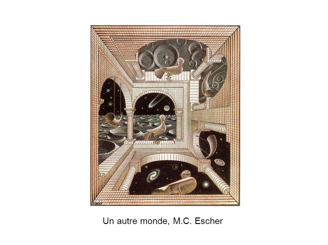 Un autre monde, M.C. Escher