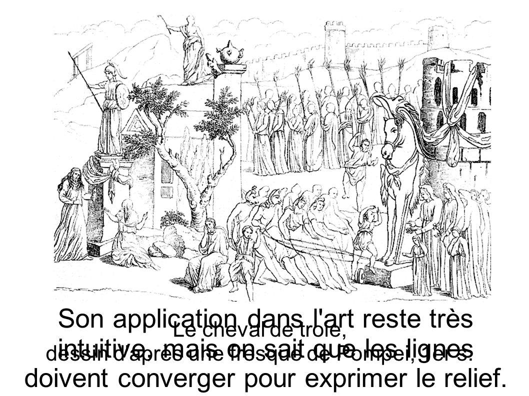 La connaissance de la perspective ne progresse pas pendant le Moyen-Âge, où l aspect symbolique prédomine sur la représentation du réel.
