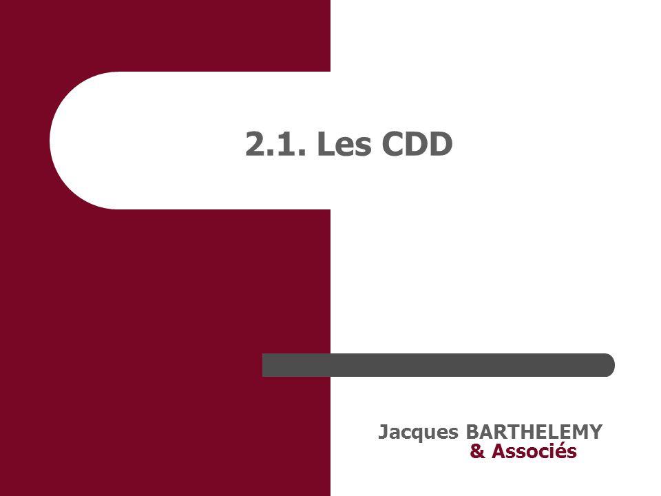 Jacques BARTHELEMY & Associés 3. Indemnisation de la maladie