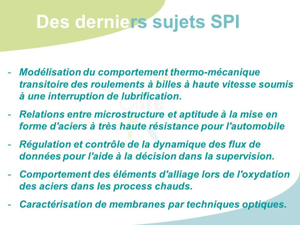 -Modélisation du comportement thermo-mécanique transitoire des roulements à billes à haute vitesse soumis à une interruption de lubrification. -Relati