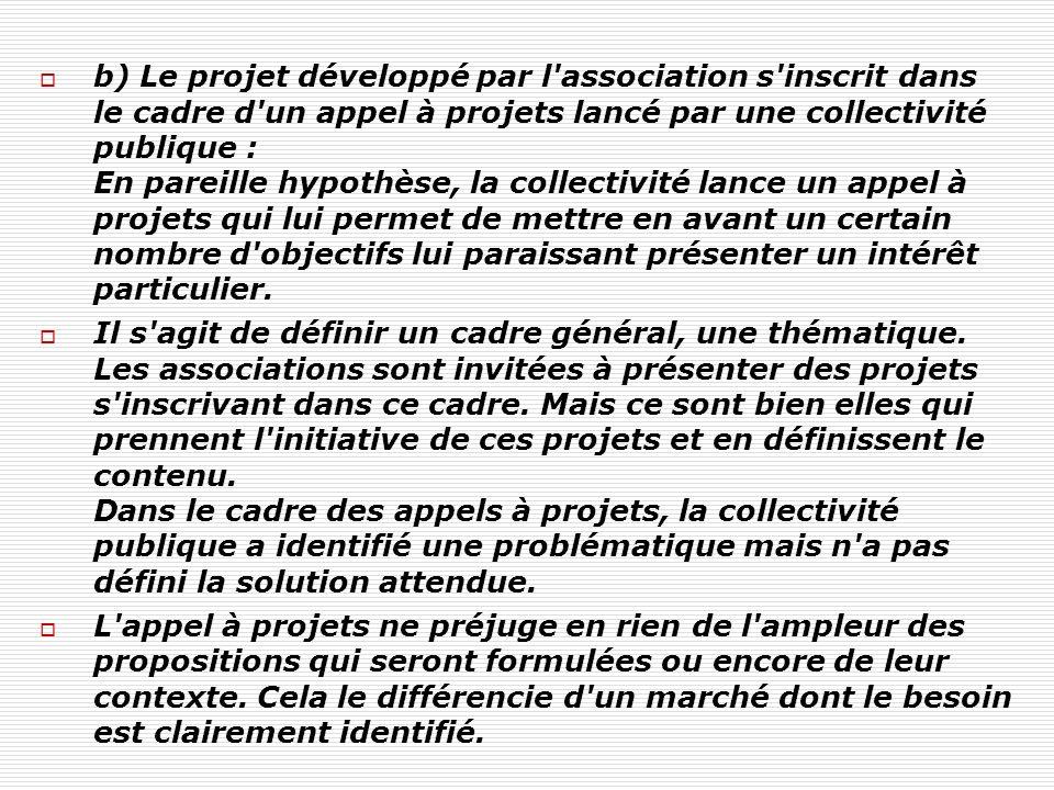 Patrick Loquet / mars 2011 II / Le marché Si la collectivité est à l initiative du projet, on se situe dans le cadre de la commande publique : Deux modes d actions doivent être distingués : le recours aux marchés publics (appel d offres) et la délégation de service public.