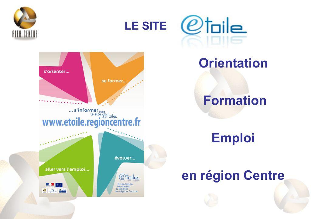 Orientation Formation Emploi en région Centre LE SITE