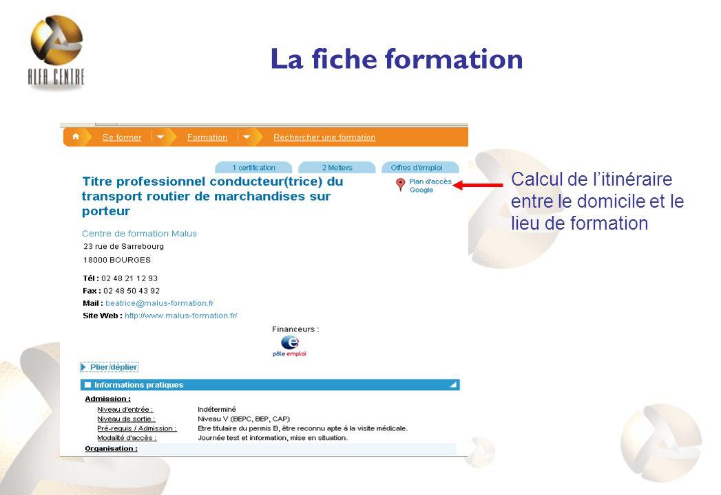 Interconnexion entre les bases métiers, formations, diplômes et offres demploi du Pôle emploi.