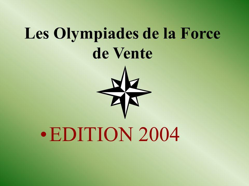 Les Olympiades de la Force de Vente EDITION 2004