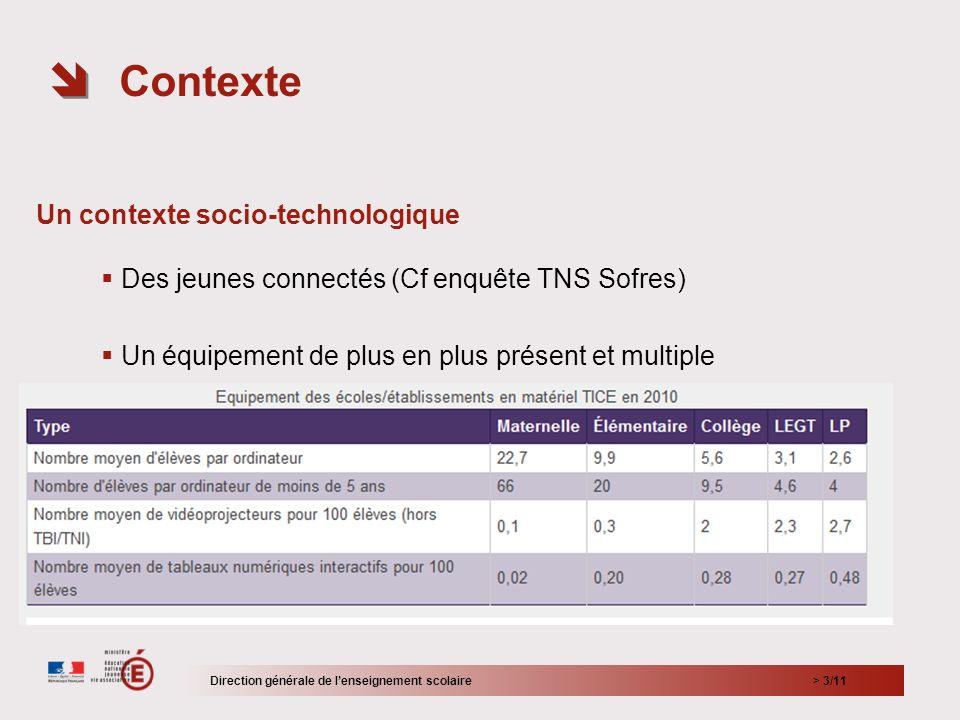 > 4/11 Le contexte institutionnel Code de léducation (Code de léducation nationale - Article L312-15 - Modifié par loi n°2011-302 du 22 mars 2011 - art.