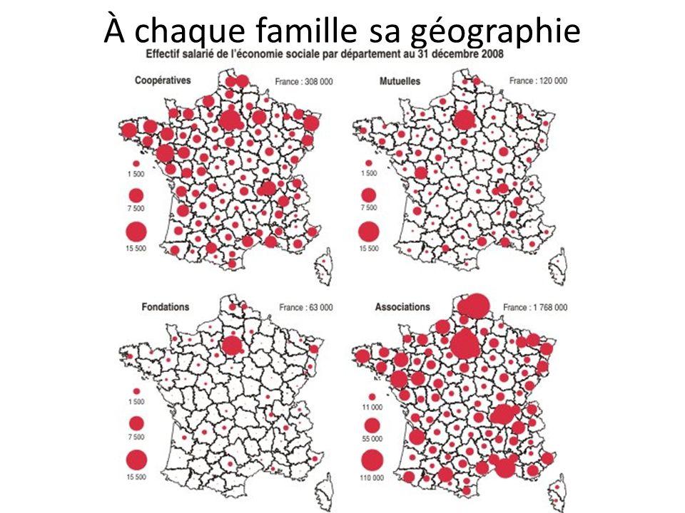 À chaque famille sa géographie