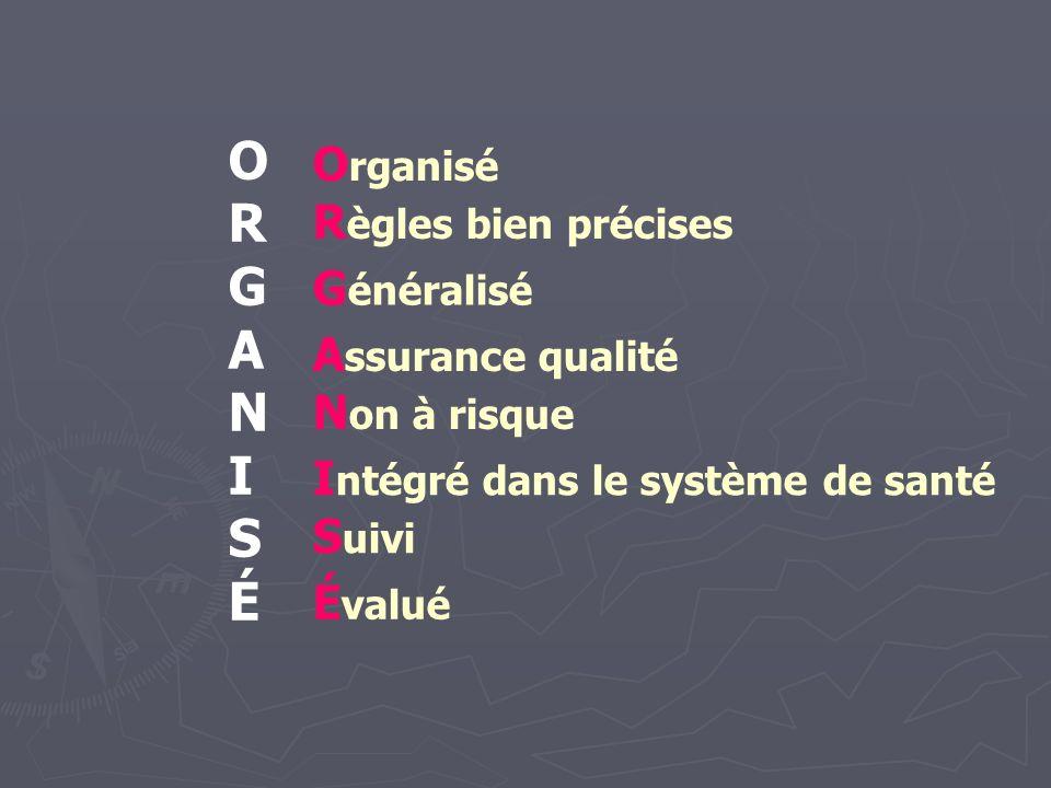 Examen clinique des seins et DO Justification Justification En pratique En pratique Résultats France entière année 2006 Résultats France entière année 2006