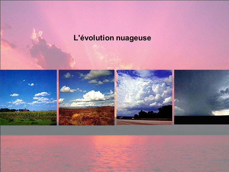 L'évolution nuageuse