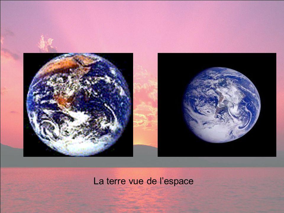La terre vue de lespace
