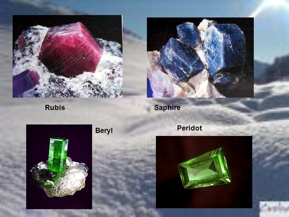 RubisSaphire Beryl Peridot