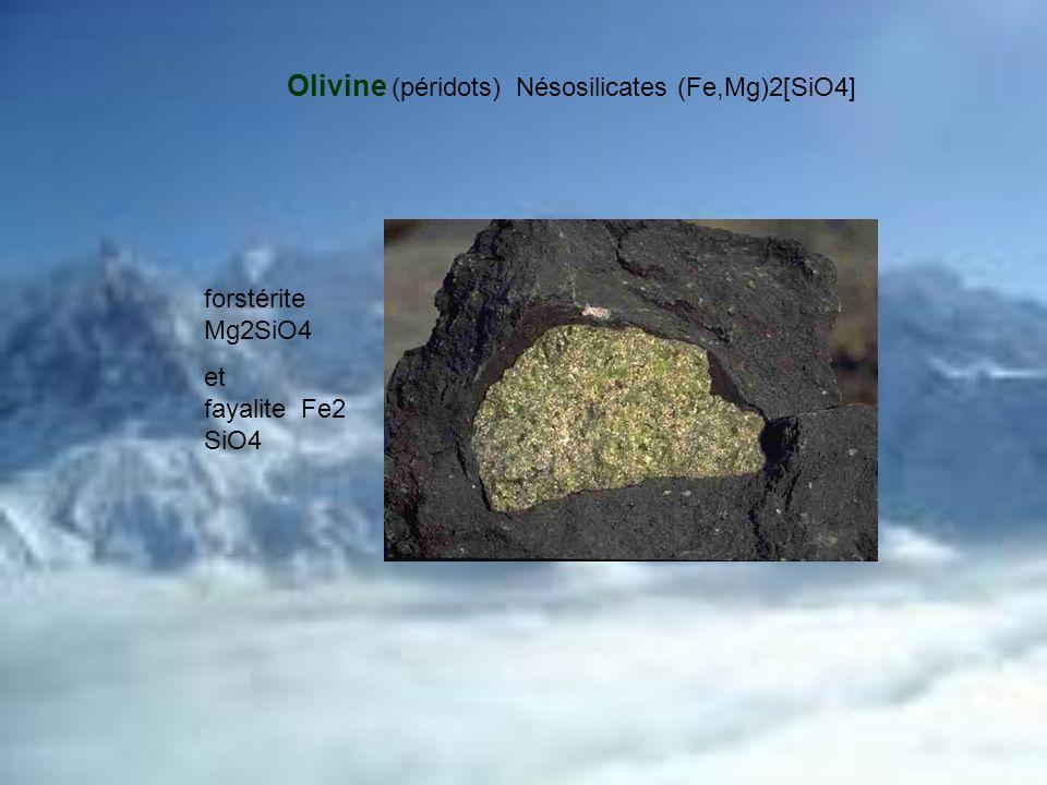 Dans le cas du quartz, il n y a pas d ions métalliques puisque tous les coins des tétraèdres sont liés entre eux par leurs oxygènes pour former un réseau tridimensionnel