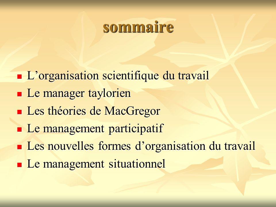 Lorganisation scientifique du travail et ses limites Principes de lO.S.T.