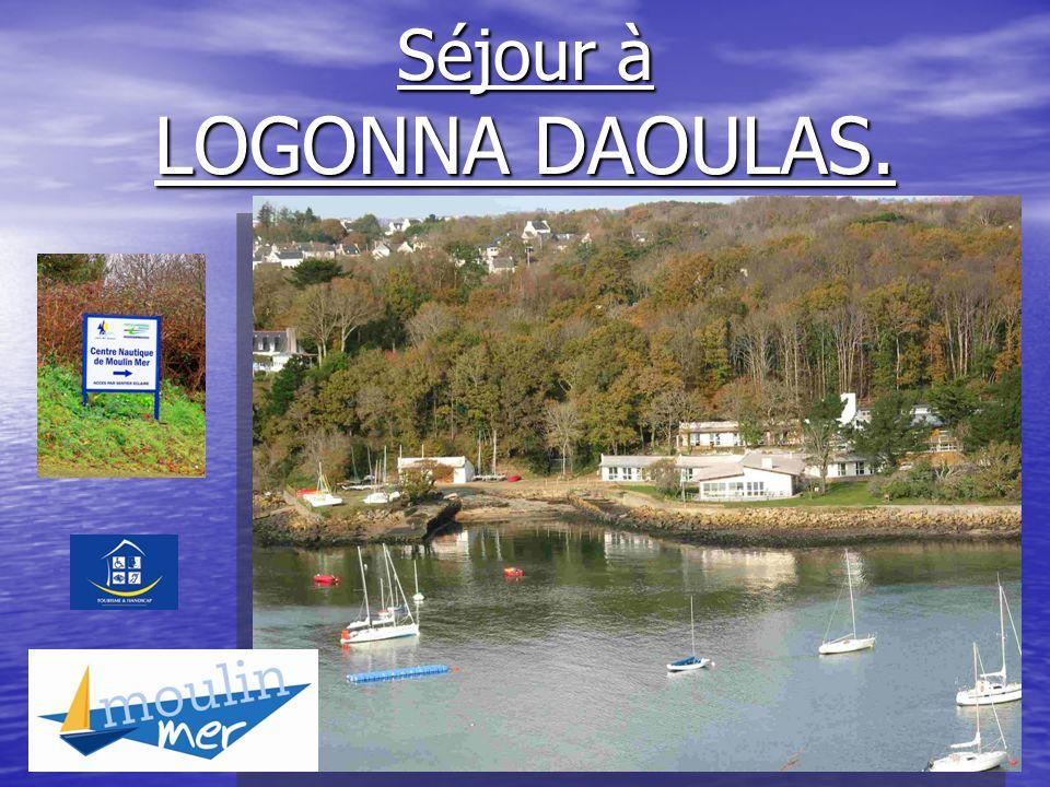 Séjour à LOGONNA DAOULAS.