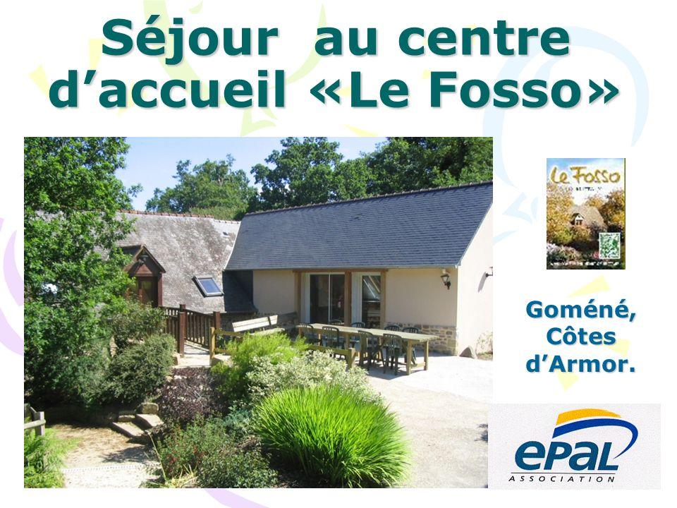 Situé en campagne, à 1km du bourg de Gomené, Le Fosso est un point de départ idéal pour la découverte du centre Bretagne authentique.