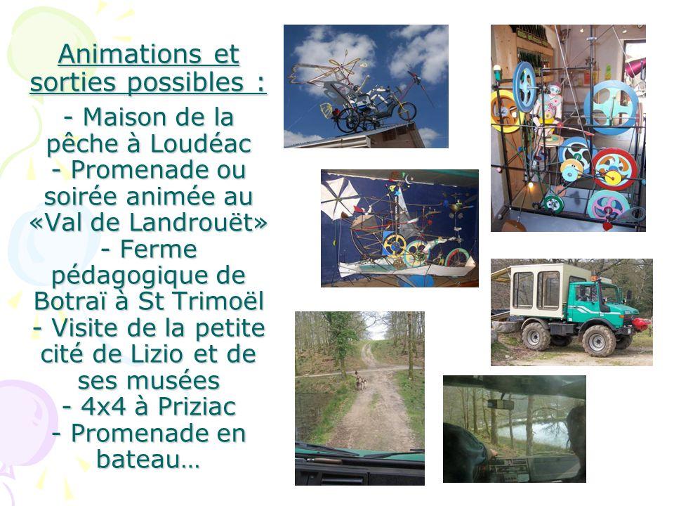 Ou encore : - visite et spectacle au haras de Lamballe, - ferme dantan de Plédéliac - festivités estivales locales… Un large choix dactivités pour des vacances au plus près de vos envies !