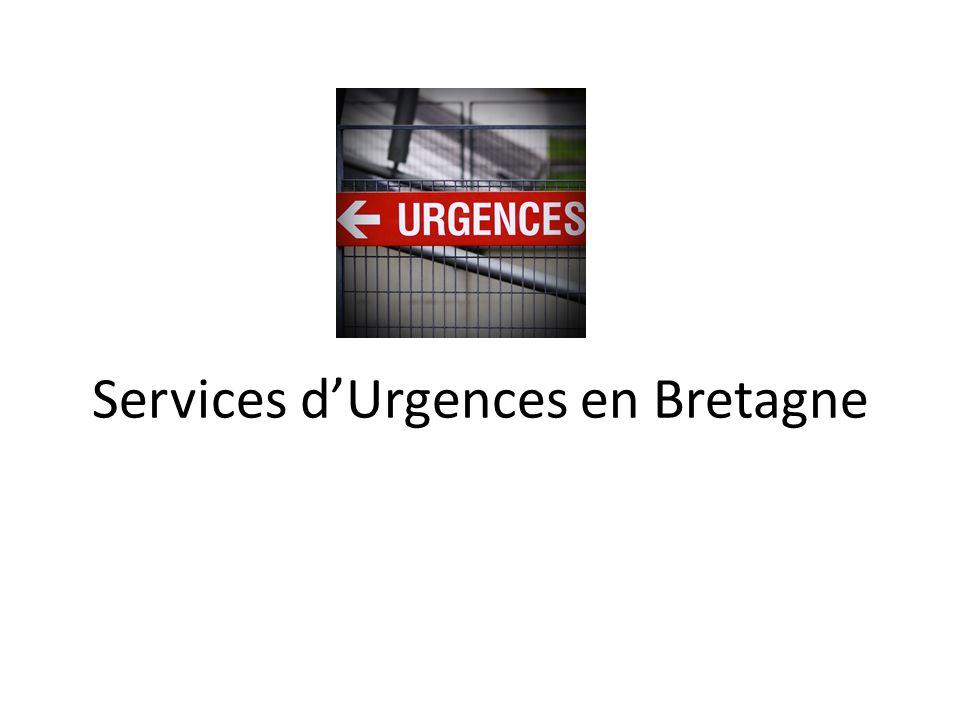 Services dUrgences en Bretagne