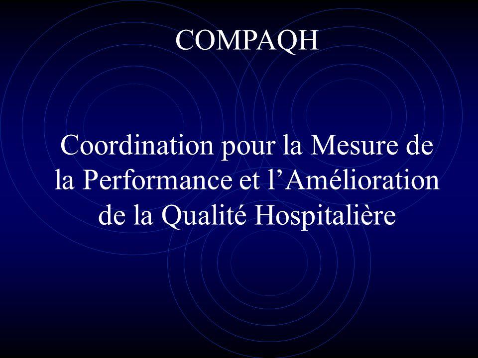 COMPAQH Coordination pour la Mesure de la Performance et lAmélioration de la Qualité Hospitalière